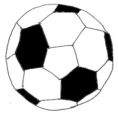 Ball - Ball, Fußball, Lederball, Spielzeug, Spielsachen, Sport, spielen