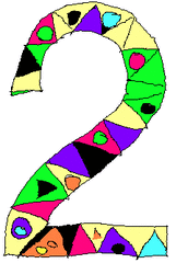 Zwei - Zwei, Zahl, Ziffer, Muster, Kunst, Mathematik, Wörter mit ei
