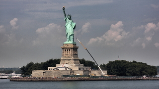 Statue of Liberty, New York - Freiheitsstatue, Statue of Liberty, Lady Liberty, Manhattan, Hafen, New York City