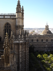 Sevilla monumentos catedral - Sevilla, monumentos, Landeskunde Spanien, Kathedrale, catedral, Giralda