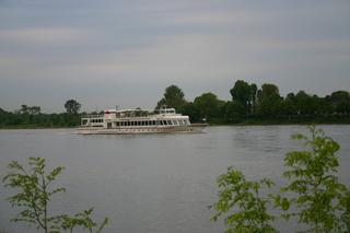 Ausflugsschiff  - Schiff, Ausflug, Passagiere, Rhein, Köln, Verkehr, Technik, Schreibanlass, Fluss, Fahrgastschiff, Ausflugsdampfer, Schifffahrt, Fahrt
