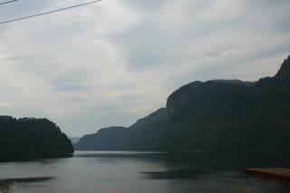 ein Fjord in Westnorwegen - Fjord, Norwegen, Felsen, Wasser, Landschaft, Trogtal, Pleistozän