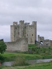 Trim Castle - Kastell, Normannen, Irland, Burg, Braveheart, Gebäude, Mittelalter