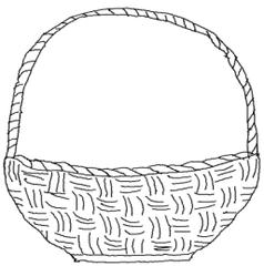 Korb - Korb, Körbchen, Osterkorb, Ostern