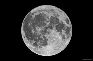 Vollmond - Mond, Vollmond, Aufnahme, Fotographie, Astronomie