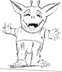 Minimonster - Minimonster, Monster, Lied, Ungetüm, Ungeheuer, Geschöpf, phantastische Kreatur, Mythen, Märchen, Mythologie