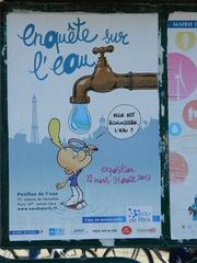 enquête sur l'eau - Frankreich, civilisation, Paris, Titeuf, exposition, eau, Wasser, Ausstellung, Wasserhahn, robinet