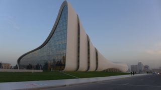 Kulturzentrum Baku #3 - Baku, Architektur, moderne Architektur, Zaha Hadid