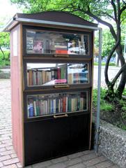 Offener Bücherschrank - Offener Bücherschrank, Büchertausch, offen, Bücher, Schrank, lesen, tauschen, Austausch, leihen, sozial, kostenlos, billig, gebraucht