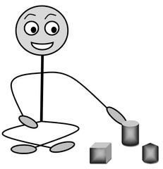 Verb: wählen / auswählen / choose - Verb, Illustration, Zeichnung, wählen, auswählen, choose, clipart, Bildkarte