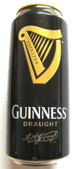 Very British #2  Guinness - Guinness, beer, Bier, Dose, can, tin, Dose, black, schwarz, drink, alcohol, stout, dunkel, Ireland, Irish