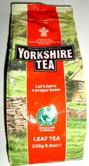 Very British #4 Tea - Tee, tea, english, breakfast, drink, package, bag, brew, leaf, leaves, Yorkshire