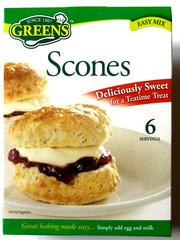 Very British #8 scones - scones, Teegebäck, teatime, sweet, mix, easy mix, bake, Mischung, backen, Teig, treat, package