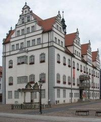 Wittenberg Rathaus - Renaissance, Rathaus, Markt, Wittenberg