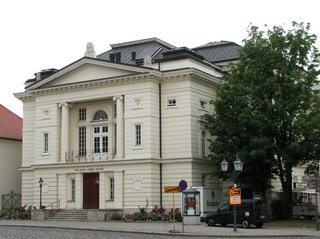 Bernburg/Saale, Theater - Theater, Drama, Musik, Klassizismus