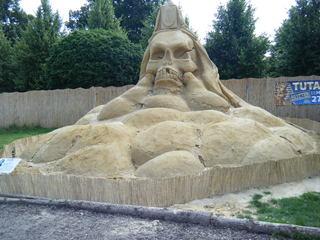 Skulpturen aus Sand #1a - Skulptur, Sand, Sandskulptur, Kunst, Kunstwerk, Bildhauerei