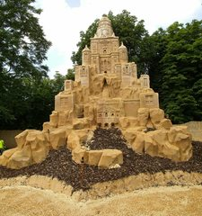 Skulpturen aus Sand #6 - Skulptur, Sand, Sandskulptur, Kunst, Kunstwerk, Bildhauerei
