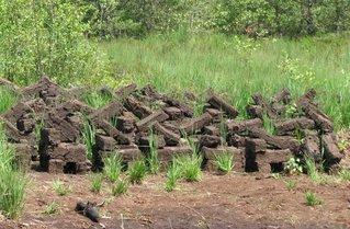 Torfabbau # 2 - Torf, Heizmaterial, Moor, Trockenlegung, Umwelt, organisch, Inkohlung, Kohle, Kohlenstoff, Chemie, Brennstoff