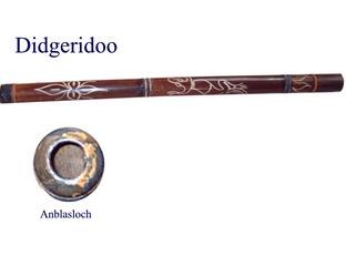 Didgeridoo - Didgeridoo, Musik, Instrument, Musikinstrument, Blasinstrument, Australien, Aborigines, zylindrisch