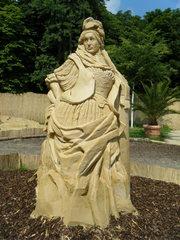 Skulptur aus Sand #12a - Skulptur, Sand, Sandskulptur, Kunst, Kunstwerk, Bildhauerei