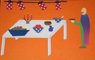 Gleichnis vom Festmahl - Gleichnis, Festmahl, Mahl, Mahlzeit, Festessen, Essen, Abendmahl, Feier