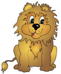 Löwe - Löwe, Raubtier, Raubkatze, Großkatze, Mähne, Zunge