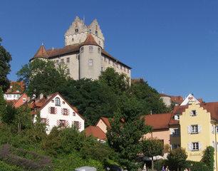 Meersburg - Meersburg, Burg, Schloss, Bodensee, Hülshoff, Museum, Geschichte, Stadt