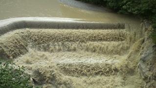 Lechfall bei Füssen - Natur, Wasser, braun, Wasserfall, Lechfall, Kaskaden, Naturgewalt, Gefahr