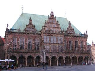 Bremer Rathaus - Rathaus, Weltkulturerbe, UNESCO, Roland, Baukunst, Bürgerfreiheit, Weserrenessaince, Gotik, Arkaden, Figuren, Hanse, Senat, Bürgermeister, Bremen