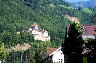 Schloss Vaduz - Fürstentum Liechtenstein - Vaduz, Liechtenstein, Fürstentum, Schloss, Fürst, Tourismus, Hauptstadt, Burg