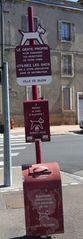Hundetoilette #1 - Frankreich, civilisation, chien, WC, panneau, Hund, crotte de chiens, distributeur de sacs en plastique