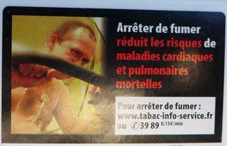Aufschrift auf französischer Zigarettenschachtel #3 - rauchen, Krebs, Lungenkrebs, cancer, mortel, poumon, fumer, Gesundheitsschädigung, Umwelt