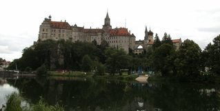Schloss Sigmaringen - Schloss, Sigmaringen, Hohenzollernschloss, fürstliches Residenzschloss, Verwaltungssitz, Bauwerk, Museum