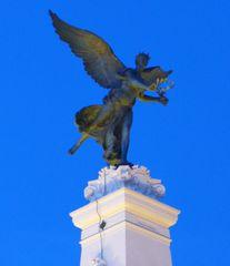 Statue - statue, place de la république, Dijon