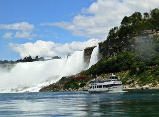 Niagara Falls 1# - Wasserfall, Wasserfälle, Wasser, Niagara, Natur, Naturschauspiel