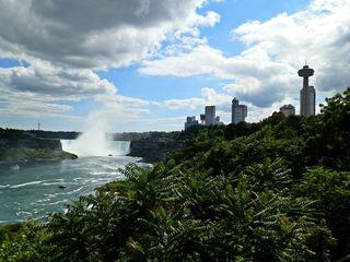 Niagara Falls 3# - Wasser, Wasserfall, Wässerfälle, USA, Canada, Amerika, Naturschauspiel