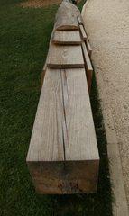 Bearbeitung eines Baumstammes #2 - Holz, Baumstamm, Bretter, Latten, Balken, sägen, bearbeiten, Durchmesser, Mathematik, Quadrat, Quader, Volumen