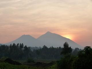 Vulkane - Vulkan, Afrika