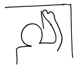 an die Tafel schreiben - Buchstabeneinführung, Tafel, Ziffernschreibkurs