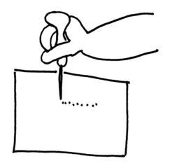 prickeln - Buchstabeneinführung, Ziffernschreibkurs, prickeln