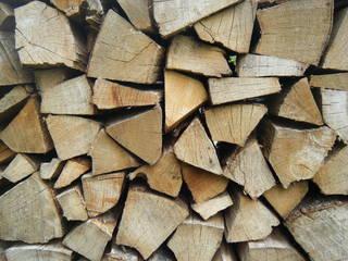 Brennholz - Holz, schlichten, schichten, spalten, geschlichtet, aufgerichtet, Struktur, Oberfläche, gespalten, geordnet, Holzstoß, Scheiter, Scheit, Brennholz, aufgeschichtet, Holznutzung, Forstwirtschaft, Wald, Feuerholz