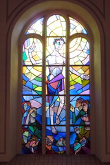 Auferstehung (Kirchenfenster) - Religion, Auferstehung, Jesus, Ostern, Segen, Kirche, Kunst