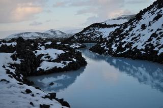 Blaue Lagune  - Wasser, Blaue Lagune, Thermalwasser, Silicium, Vulkan, Schnee, Island, Reykjavik, Kälte, Wärme, Energiegewinnung