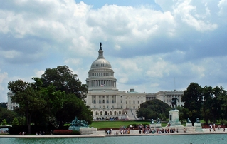 Capitol / Kapitol - Capitol, Kapitol, Parlament, USA, Amerika, United States Capitol, Sitz, Kongress, klassizistisch, Bauwerk, Kuppel