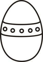 Osterei 2 - Ei, Eier, Osterei, eins, Einzahl, Band, Muster, Ostern, Anlaut Ei, Anlaut O