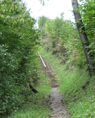 Stiege - Stiege, Treppe, Weg, Symbol, Schreibanlass, Stufen, Meditation, bergauf, steil, beschwerlich