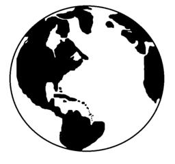 Erde_Vorlage - Erde, Terra, Himmelskörper, Himmel, Weltall, Universum, Astronomie, Kugel, Körper, Mathematik, Geografie, Erdkunde