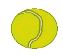 Tennisball - Tennisball, Schlagball, Ball, Sport, spielen, Spielzeug