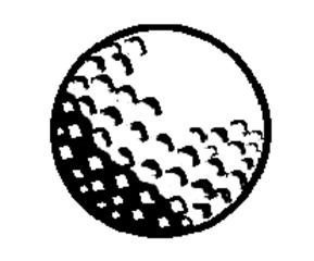 Golfball - Golfball, Schlagball, Ball, Sport, spielen, Spielzeug, Rasenspiel, Kugel, Körper, Oberfläche, Volumen, Mathematik