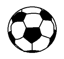 Fußball, Soccerball - Fußball, Soccerball, Ball, Sport, spielen, Spielzeug, WM, EM, Kugel, Körper, Oberfläche, Volumen, Mathematik